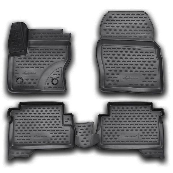 Novline Gumové autokoberce Ford Kuga 2013- 3D