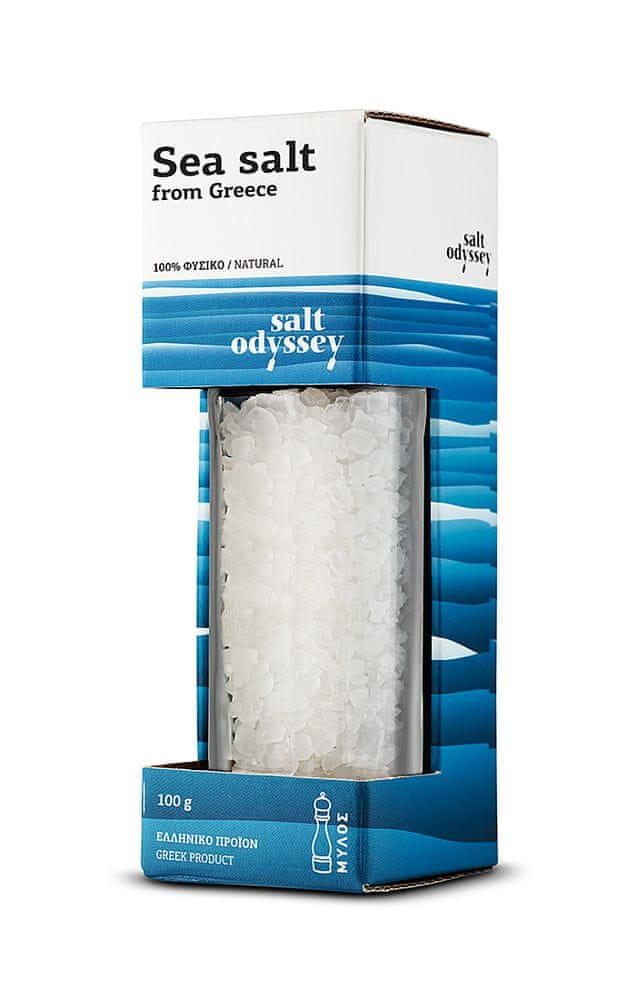 Mořská sůl hrubá 100 g mlýnek