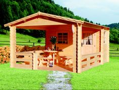 LanitPlast zahradní domek LANITPLAST JELA 372 x 476 cm