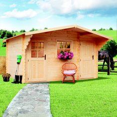 LanitPlast zahradní domek LANITPLAST ALEŠ 398 x 398 cm