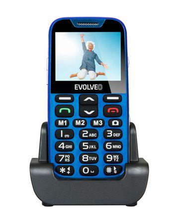 Evolveo telefon komórkowy EasyPhone XD, niebieski