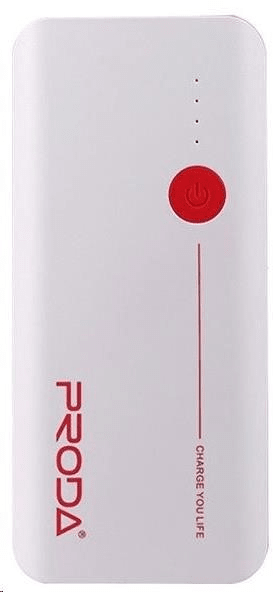 REMAX PowerBank Proda 20000 mAh, bílo - červená EXCLUSIVE AA-1078