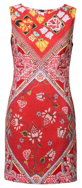 c46a658f9c7 Desigual dámské šaty Vest Lisa 34 červená