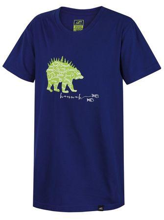 Hannah otroška majica Duckie, 116, temno modra