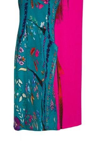 Desigual dámské šaty Vest Waling 36 růžová - Parametry  05c148ed5a7