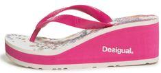 Desigual dámské žabky Shoes Lola Galact