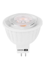Canyon LED sijalka MR oblika, GU5.3, 7.5W, 4000K, 3 kosi
