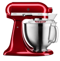 KitchenAid mješalica Candy Apple, crvena (KA5KSM185PSECA)