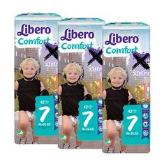 Libero Comfort XL/XL+ (7) pelenkacsomag - 3 x 42 db