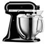 1 - KitchenAid mešalec Onyx Black, črn (KA5KSM185PSEOB)