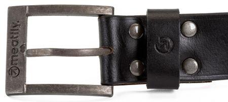 MEATFLY pánský pásek Doppler S/M čierna