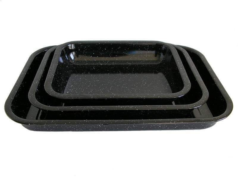 Belis Smaltovaný pečicí plech 34 × 26 × 5 cm