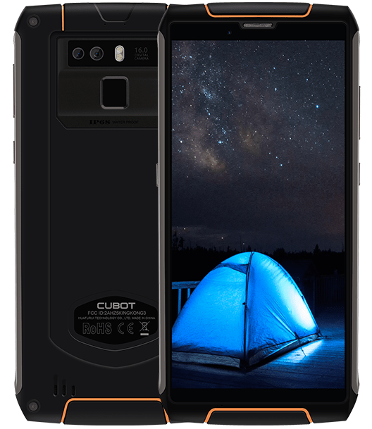 Cubot King Kong 3, 4GB/64GB, Black