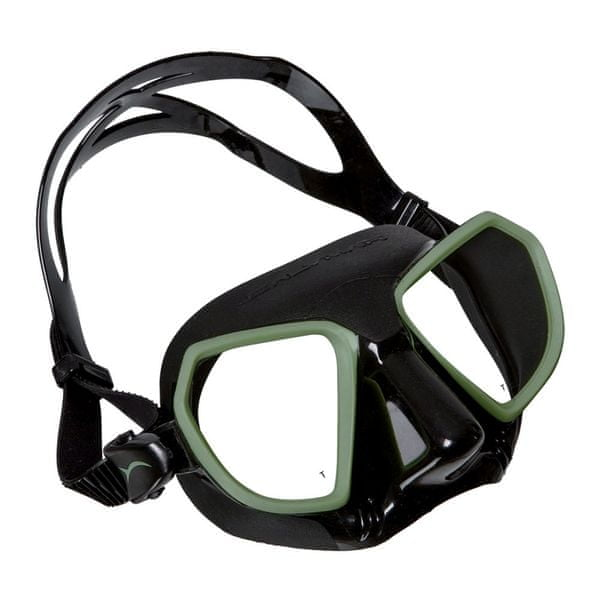 SALVIMAR Maska NOAH, Salvimar, černá/zelená