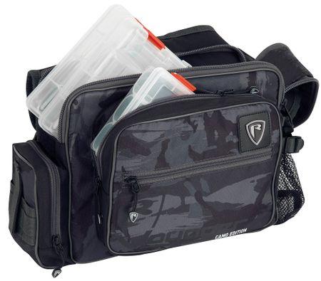 FOX RAGE Taška Camo Medium Shoulder bag Inc Boxes
