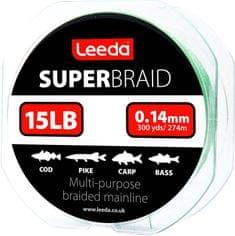 Leeda Splétaná šňůra Super Braid 274 m