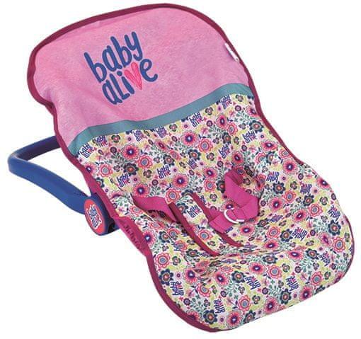 Hauck Baby Alive dětská autosedačka pro panenky