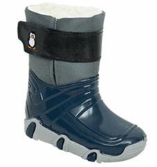Zetpol Chlapecké sněhule Winter - šedo-modré