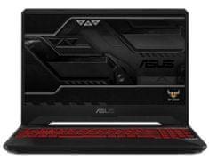 Asus gaming prenosnik TUF Gaming i7-8750H/8GB/SSD256GB+1TB/GTX1050/15,6FHD/FreeDOS (90NR00T2-M03640)