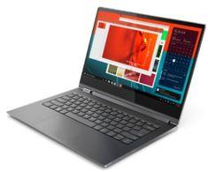 Lenovo prenosnik IdeaPad Yoga C930 i7-8550U/16GB/SSD512GB/13,9UHD/W10H, siv (81C400AGSC)