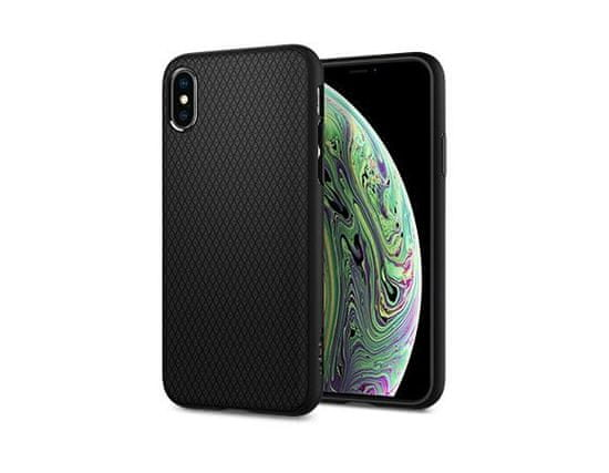 Spigen ovitek Liquid Air za iPhone Xs Max, črn