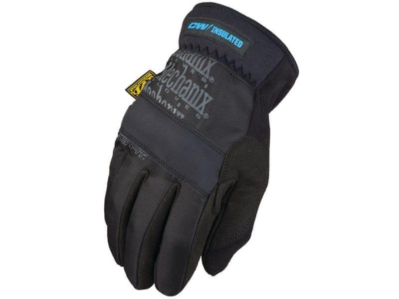 Mechanix Wear Rukavice FastFit Insulated - zimní, zateplené černé, Velikost: M