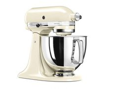 KitchenAid mešalec Almond Cream, krem (KA5KSM175PSEAC)