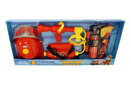 Unikatoy vatrogasni set + kaciga sa svjetiljkom