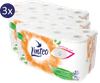 LINTEO Toaletný papier biely 3 x 16 roliek, 3-vrstvový