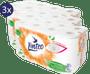 1 - LINTEO beli toaletni papir, 3-slojni, 3 x 16 rolic