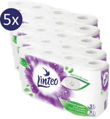 LINTEO satin papier toaletowy – 5 x 8 szt