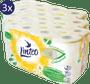 1 - LINTEO Satin toaletni papir s kamilico, 3-slojni, 3 x 16 rolic