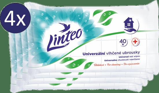 LINTEO Uniwersalne chusteczki do czyszczenia 4 × 40 szt.