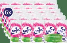 LINTEO Papierové vreckovky - 6 x 10 ks