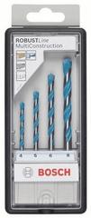 Bosch 4-delni komplet svedrov Robust Line CYL-9, Multi Construction (2607010521)