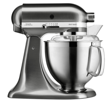 KitchenAid mikser Brushed Nickel, sivi (KA5KSM185PSENK)