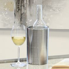 Papillon Chladič na víno nerezový Galano, 20 cm