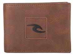 Rip Curl pánská hnědá peněženka Rider RFID All Day
