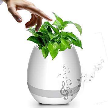 Debonair lonček za rože z bluetooth zvočnikom, funkcijo klavirja in namizno led lučko