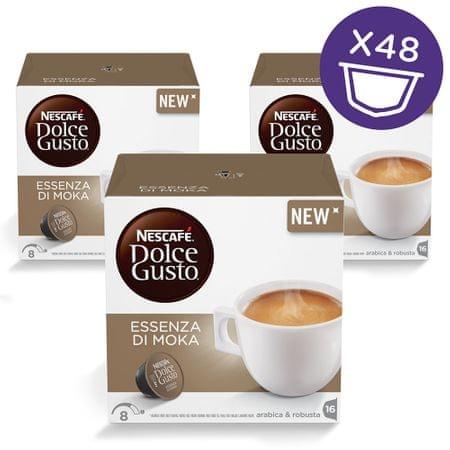 NESCAFÉ kapsułki do kawy Dolce Gusto® Essenza di Moka, 3 zestawy