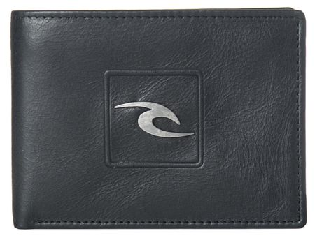 Rip Curl pánská černá peněženka Rider RFID All Day