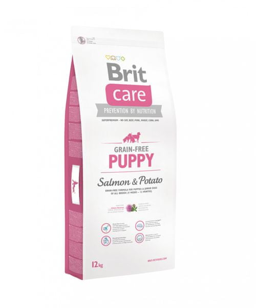 Brit Care Grain-free Puppy Salmon&Potato 12kg