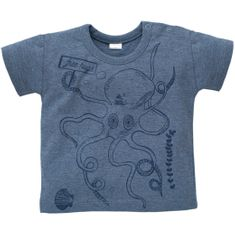 PINOKIO Chlapecké tričko Sea world - modré