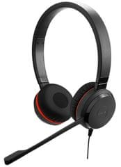 Jabra Evolve 20, Duo, USB, MS, leather