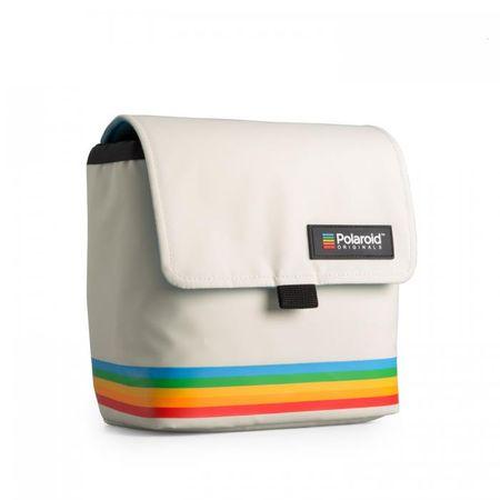 POLAROID torba Box Camera Bag, bela