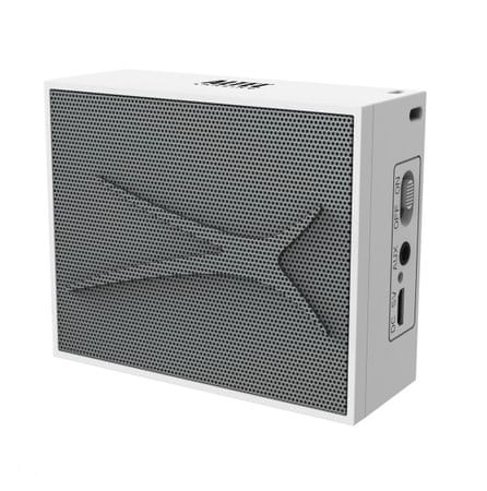 Altec Lansing Pocket Bluetooth zvočnik 2W, AUX-in. bel