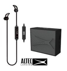 Altec Lansing Snake + Pocket, Bluetooth slušalke in zvočnik - komplet, črn