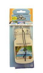 Yankee Candle Papírová visačka 3 ks - Coconut Bay, Ocean Water, Sun&Sand