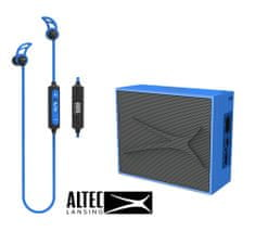 Altec Lansing Snake + Pocket, Bluetooth slušalke in zvočnik - komplet, moder