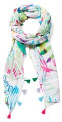 Desigual dámský smetanový šátek Foul Palm